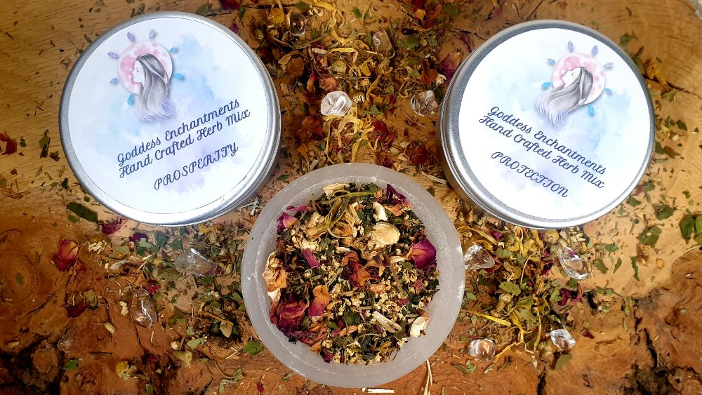 Ritual and Altar Herb Mixes & Blends