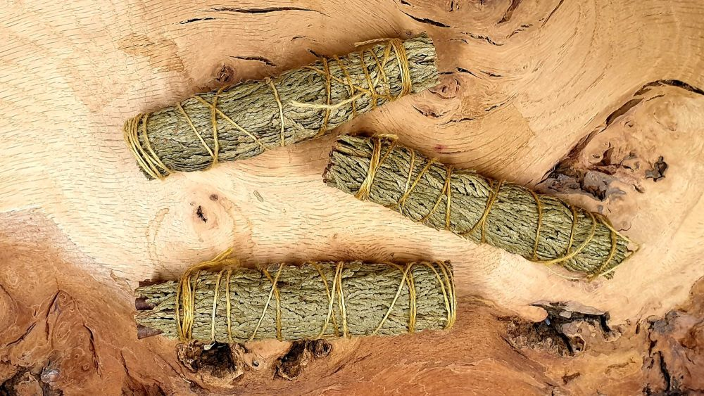 Cedar Mini Smudge Sticks