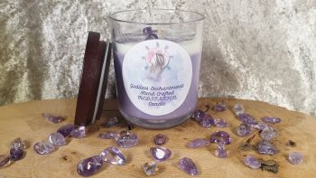 Meditation and Journey Altar & Ritual Jar Candle ~ Organic and Natural