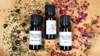 Hand Blended GODDESS/GOD Candle Anointing Spell & Ritual Oils ~ Your Choice ~
