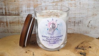 Energy Clearing Altar & Ritual Jar Candle ~ SUPERSIZE THREE WICK VERSION Organic and Natural