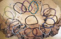Assorted Faceted Gemstone Bracelets