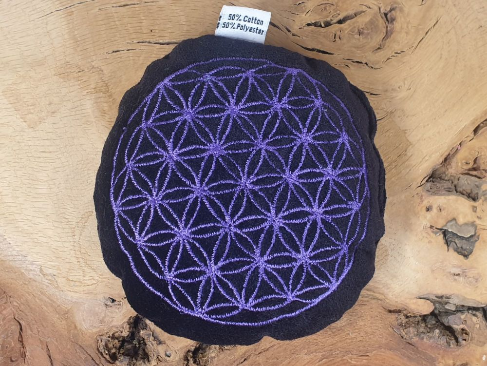 Flower of Life Sphere Pillow