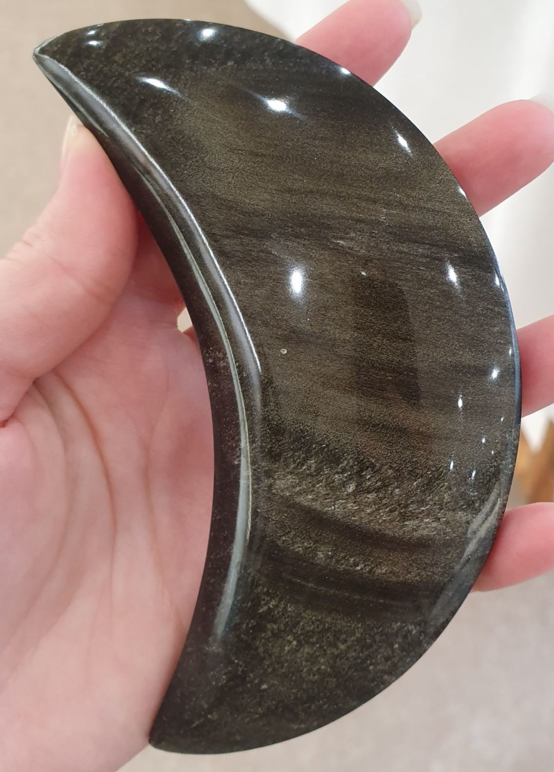 Velvet Obsidian Moon with Release and Protect oil