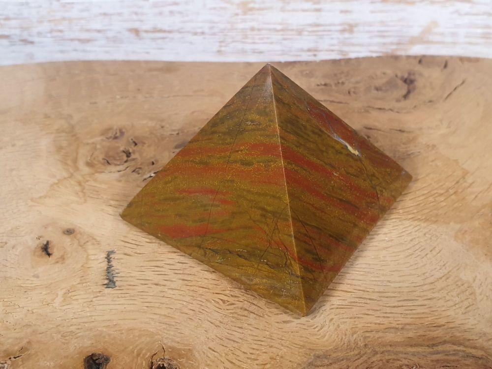 Jasper Pyramid - Medium