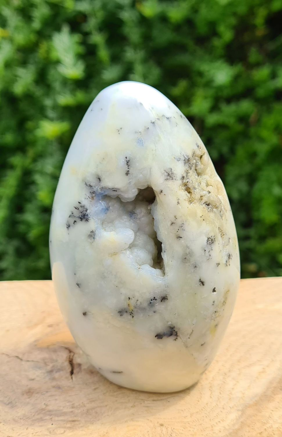 Dendritic Opal/Merlinite Freeform