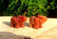 Ganesha Lucky Carnelian Elephant