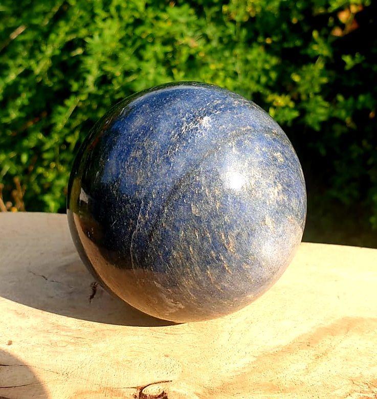 Lazulite Sphere (3)