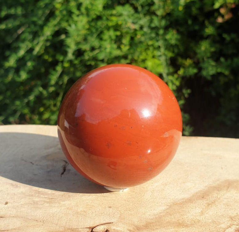 Red Jasper Sphere (1)