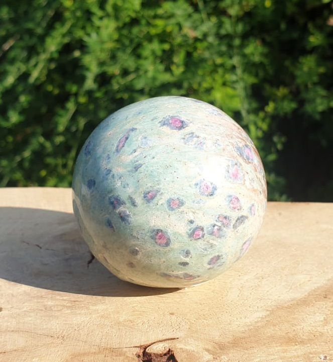 Ruby Fuchsite Sphere (1)