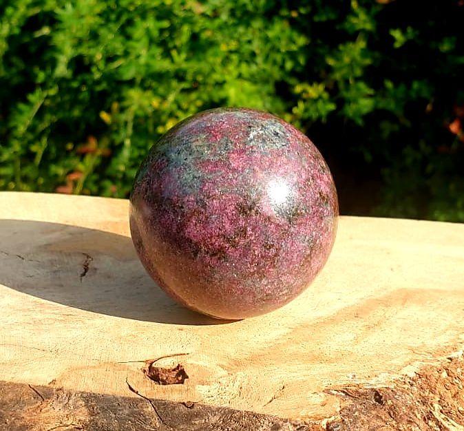 Ruby Kyanite Sphere (1)