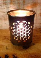Flower Of Life Tealight holder - Metal