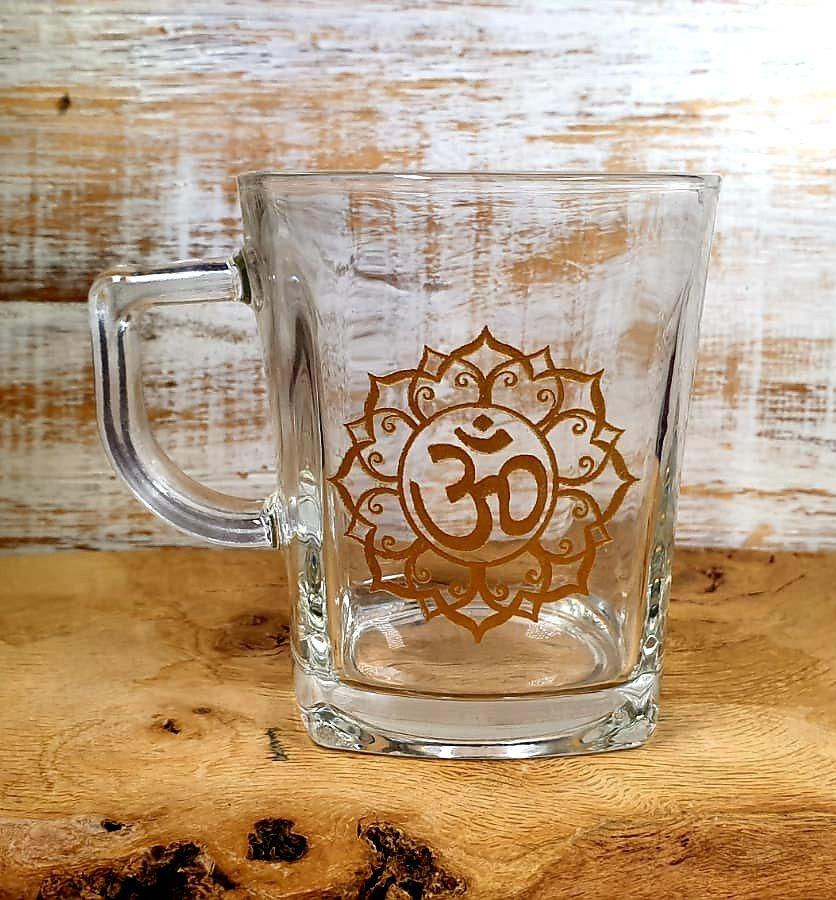 Ohm Tea Glass