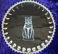 Cat Altar Cloth  - 45 cm
