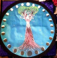 Tree Goddess Altar Cloth - 45cm