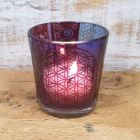 * Flower Of Life Tealight holder