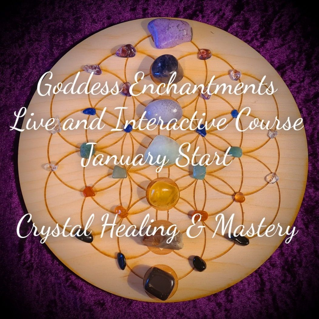 * Crystal Healing and Mastery Live and Interactive Course *