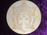 Lord Ganesha Crystal Grid Board 10 inch