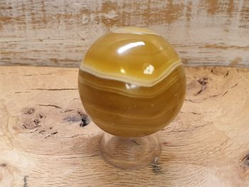 Caramel Calcite Sphere 1