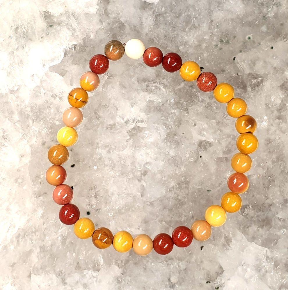 Mookaite Gemstone Bracelet