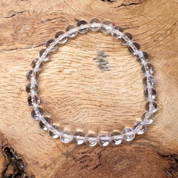 Clear Quartz Gemstone Bracelet