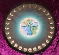 Moon Blessings Altar Cloth - 45cm