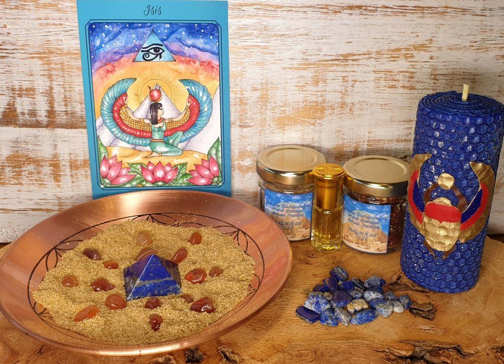 February Enchantments Box ~ Magick of Goddess Isis