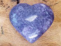 Lepidolite Heart (1)