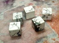 Howlite Cube