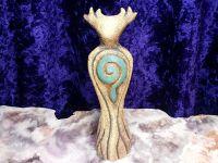 Horned God Statue