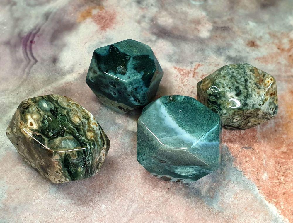 Ocean Jasper Channeler Stone - Large