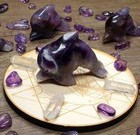 Sea Magick - Amethyst Dolphin and Grid Board