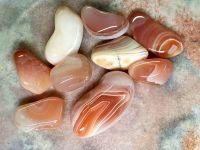 Apricot Agate Tumblestone
