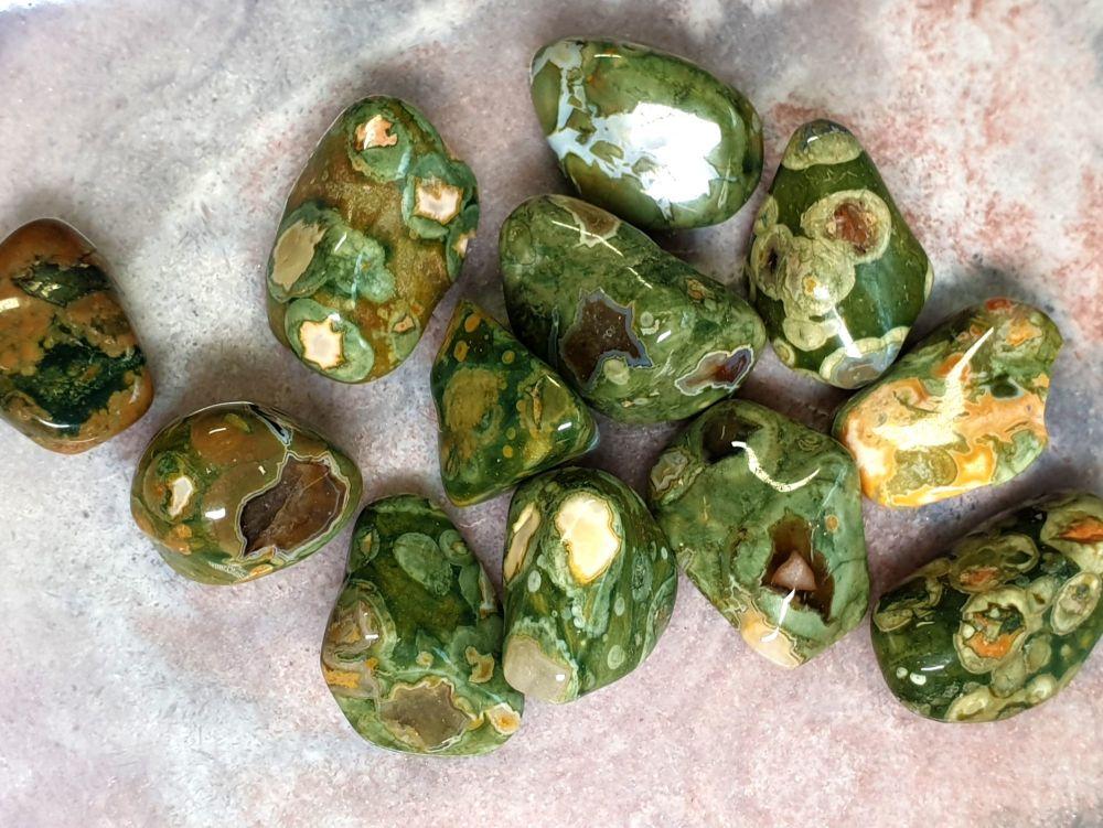 Rhyolite Tumblestone