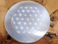 Selenite Charging Plate - Flower of Life