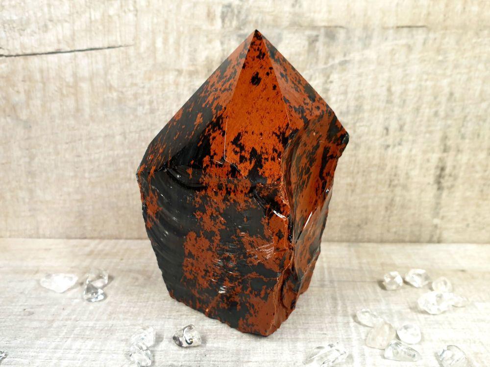 Mahogany Obsidian Rough Generator 5