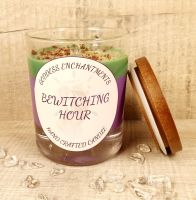 Bewitching Hour Altar & Ritual Jar Candle ~ Organic, Vegan, and Natural