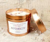 Lepidolite - Crystal Candle