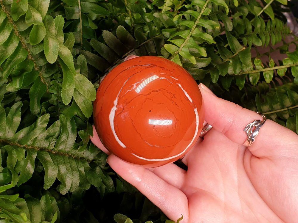 Red Jasper Sphere (2)