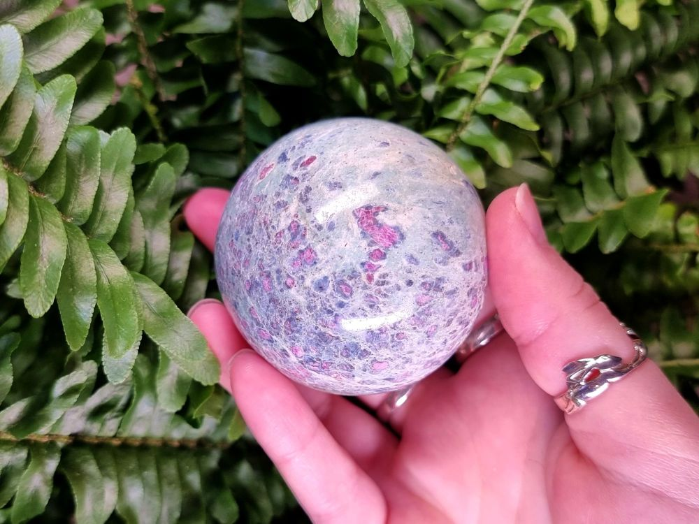 Ruby Fuchsite Sphere (2)