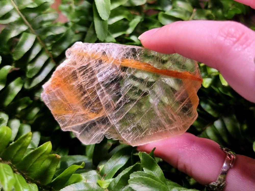 Golden tip Selenite (1)