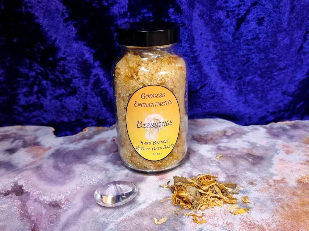 Blessings - Hand Crafted Ritual Bath Salts