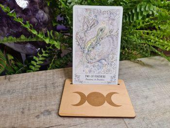 Triple Moon Tarot Card Stand