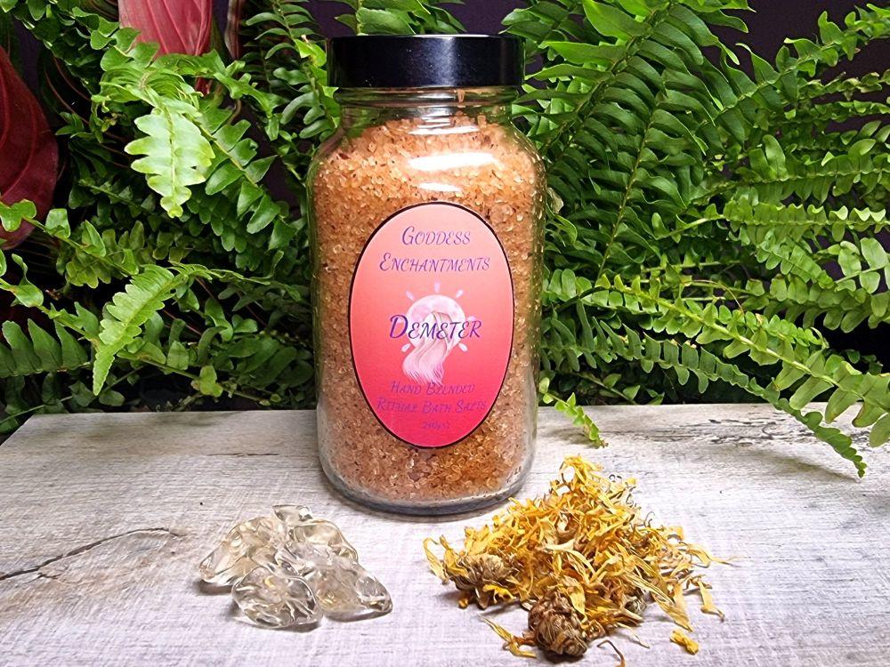 Demeter's Abundance - Hand Crafted Ritual Bath Salts