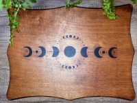 Hand Crafted Altar Table/Base Moon Phases