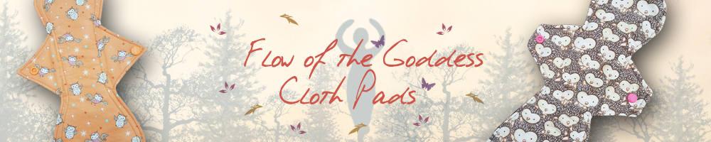 Flow Of The Goddess Cloth Pads, site logo.
