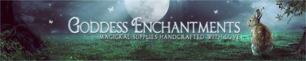 Goddess Enchantments, site logo.