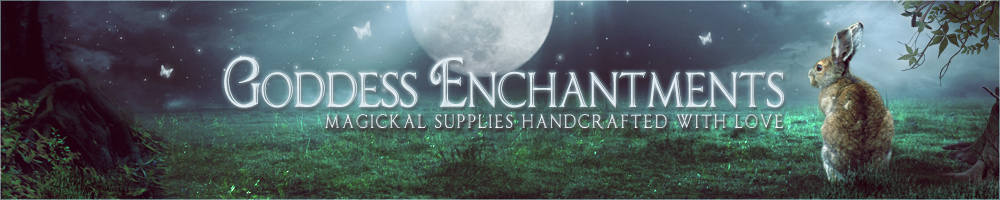 Goddess Enchantments, site logo.