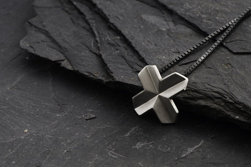 Echo Cross Pendant