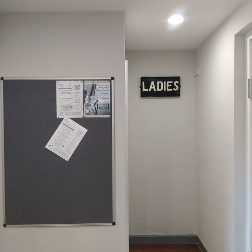 New 025 Ladies sign
